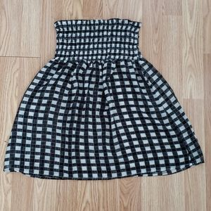 American Rag Checkered Tube Top